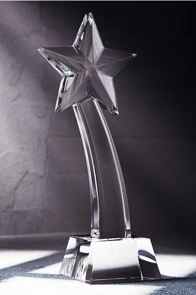 Crystal Tail Statuette with Star