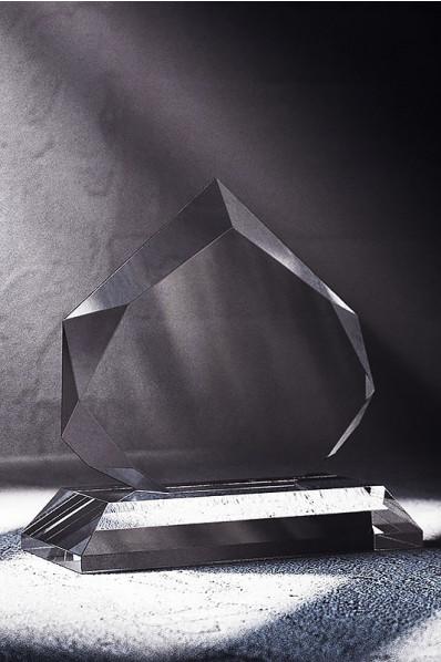 Prism Crystal Plaque Statuette