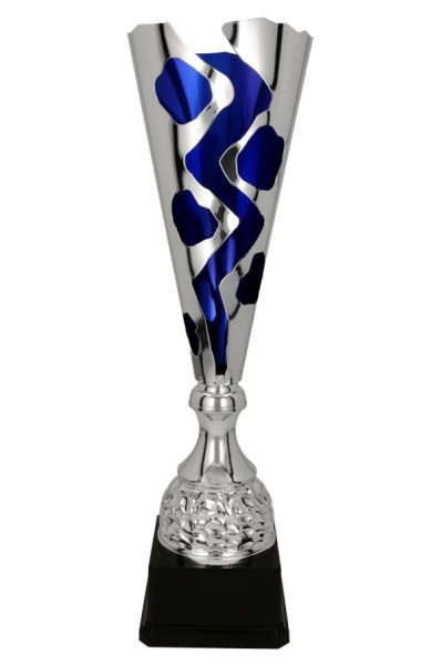 Silver-gold cup with ornament