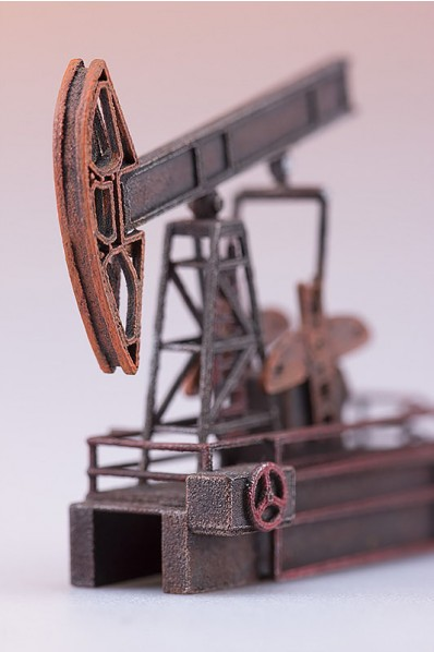 Oil rig Miniature 3D Print