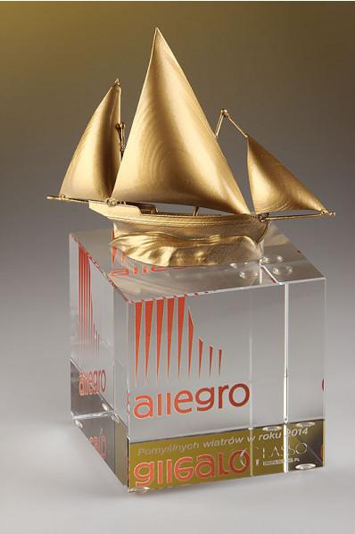 Sailboat 3D Print Statuette