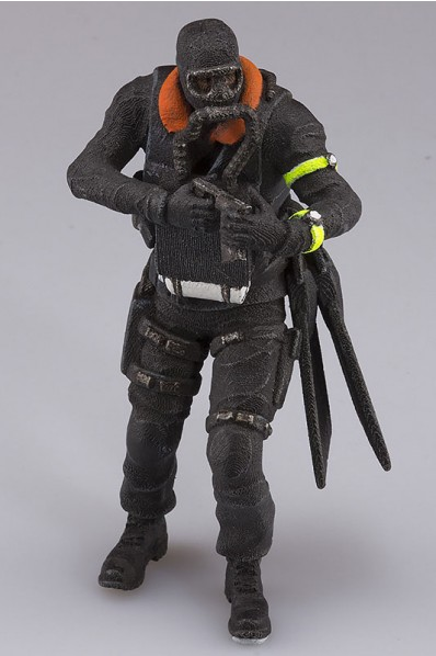 3D Printed Minature Commando