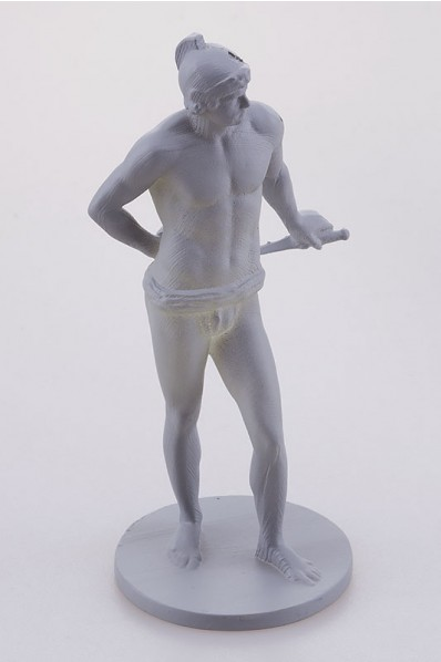 Miniature 3D Printed Greek Statuette