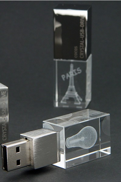 Crystal USB Stick