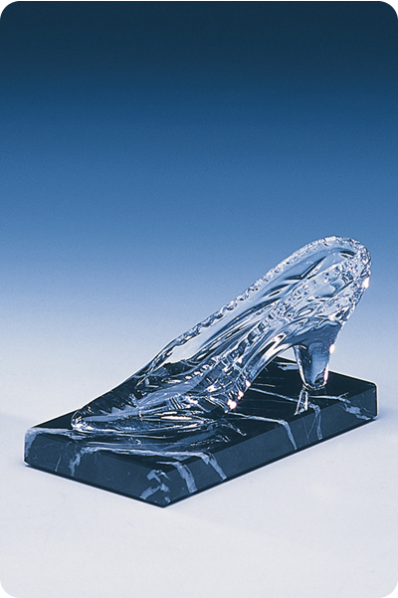 Glass Shoe Trophy