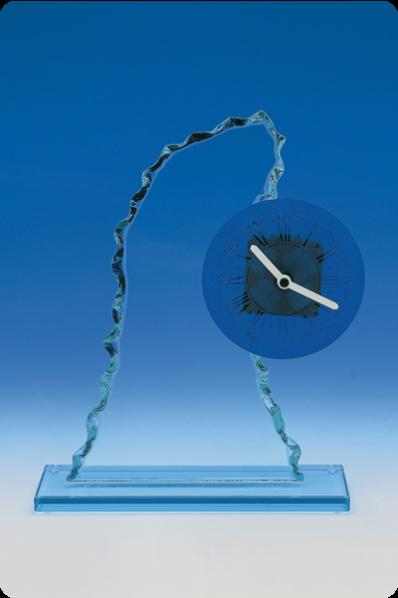 Crystal Clock Plaque