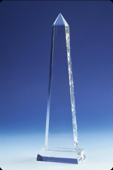Spire Slender Glass Cube