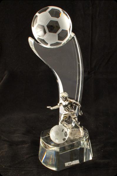 Soccer Ball Award Plaque