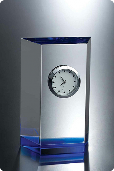 Delicate Crystal Clock