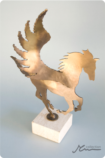 The Pegasus Statuette