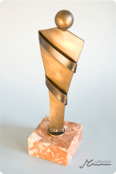 Wrapped Figure Trophy