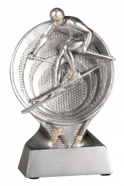 Skiing Resin Award Trophy