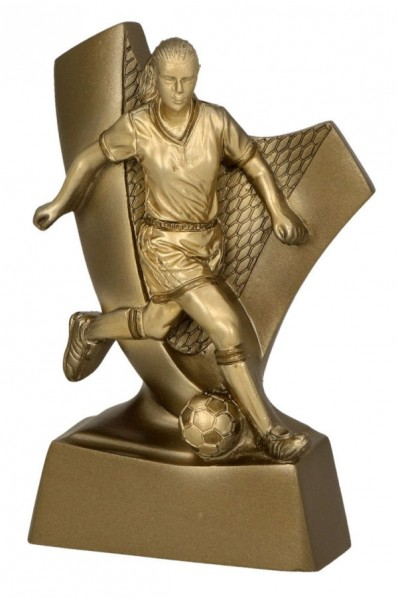 Dribbling Soccer Player Trophy