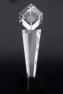 The Cube on a pillar trophy